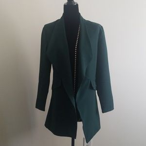 NASTY GAL LONG BLAZER